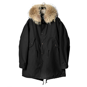 A-08 lonvan field jacket (Black)[MADE BY ONESOME]