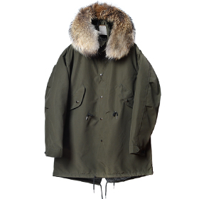 A-08 lonvan field jacket (Khaki)[MADE BY ONESOME]