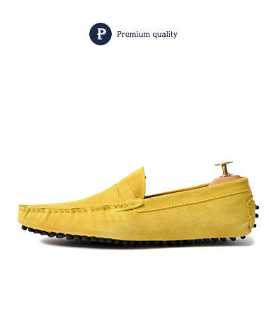 Johny driving shoes (yellow)