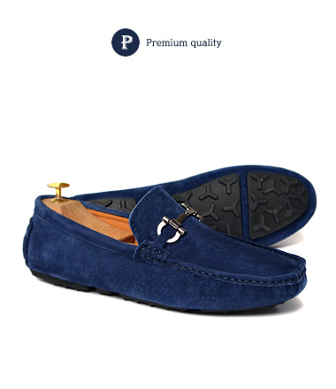 Spell driving shoes (Deep blue)