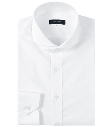 CPT50 NO.1 wide shirts (White)